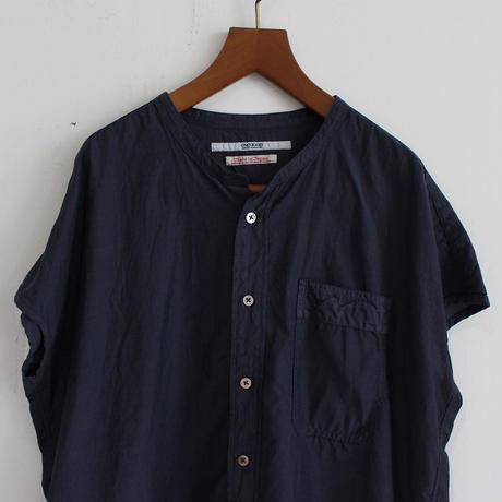 OMNIGOD_フレンチスリーブスタンドカラーシャツwomen/【56-0920X】