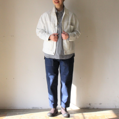 OMNIGOD_7oz甘織りデニムジャケット womens/【58-0850E】