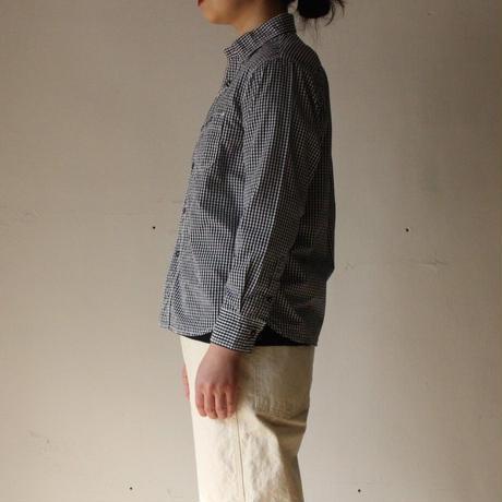 OMNIGOD_ギンガムワークシャツⅢ womens/【56-0910X】