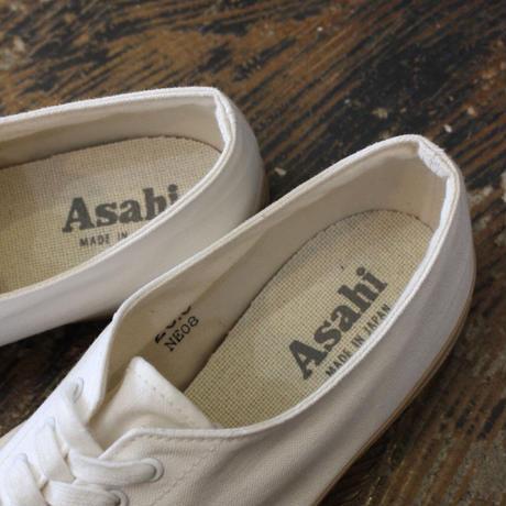 ASAHI_デッキシューズ【I131L0001 _ beige×white】