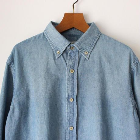 OMNIGOD_シャンブレーBDシャツmen/【56-0346X】