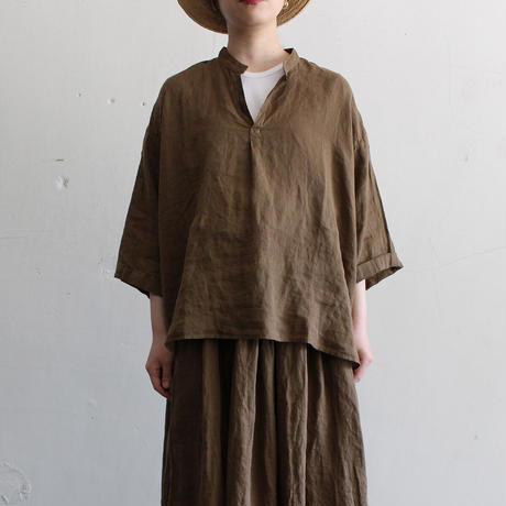 artepovera_21su31リネンスタンドシャツ【I017A0104】