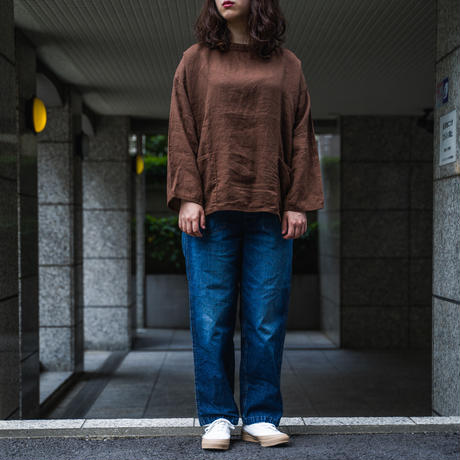 OMNIGOD_11oz デニム PWイージーパンツ/ladies【53-0166D used】