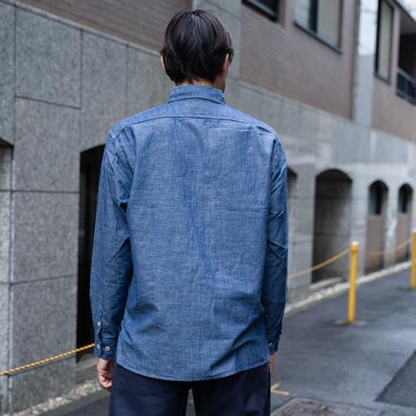OMNIGOD_シャンブレーワークシャツⅢ/mens【56-0267X】