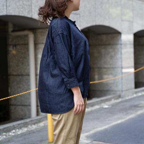 OMNIGOD_ワイドスタンドカラーシャツ / ladies【56-0901E】