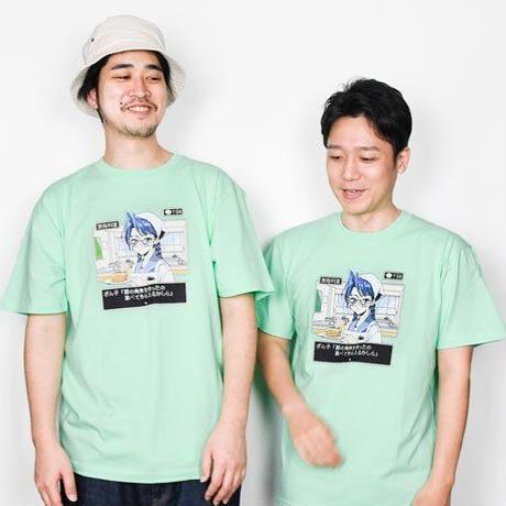 恐山(ざん子)Tシャツ【角煮ver】