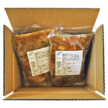 「想い出のふらの」特製スープカレーセット(450gx2食 )