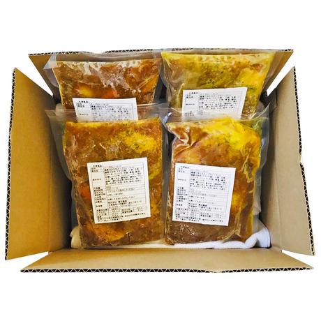 「想い出のふらの」特製スープカレーセット(450gx4食 )