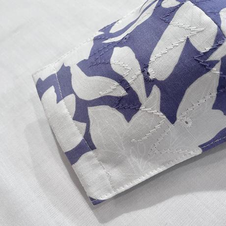 【普通サイズ】薄紺花