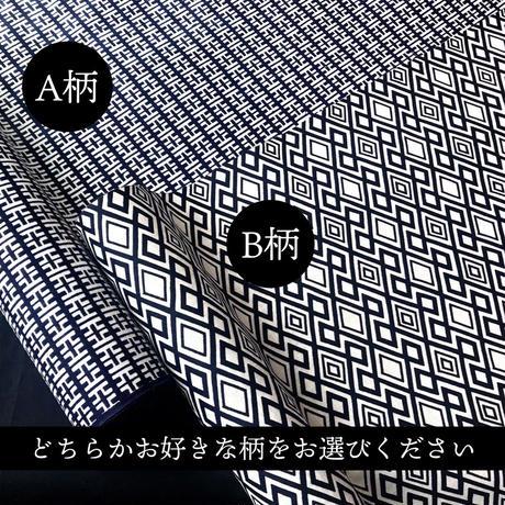 柄が選べる浴衣アロハシャツ 紺(お揃いマスク付)