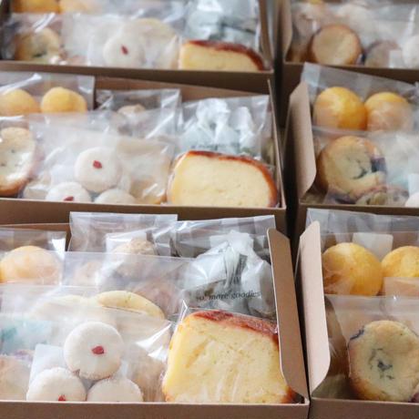 <7/10 (金) 発送> 7月の焼き菓子