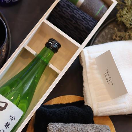 【内祝】レーザー刻印木箱