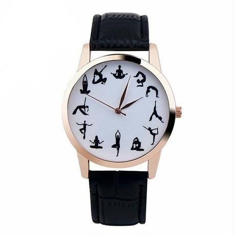 ヨガ腕時計