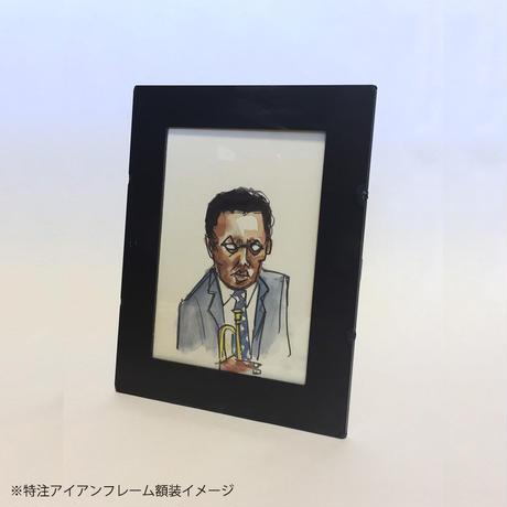 KONO IWAPPEN EXHIBITION IN NAGOYA/水彩画作品 B6