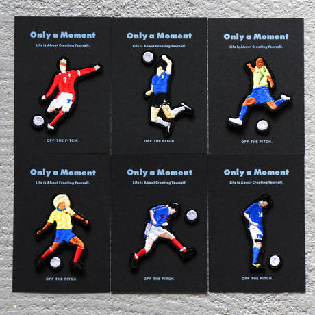 OFF THE PITCH. / Only a Moment T-shirt  Football series  ワッペンセレクト