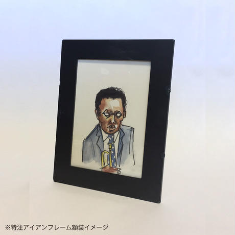 KONO IWAPPEN EXHIBITION IN NAGOYA/水彩画作品 A4