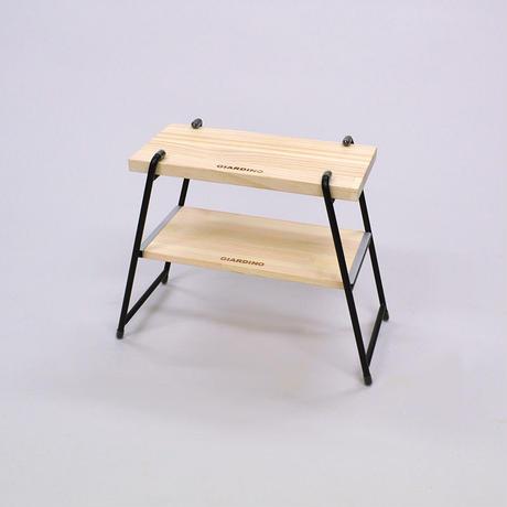 【WEB限定】サイドテーブル&チェアSサイズバッグ付:BK