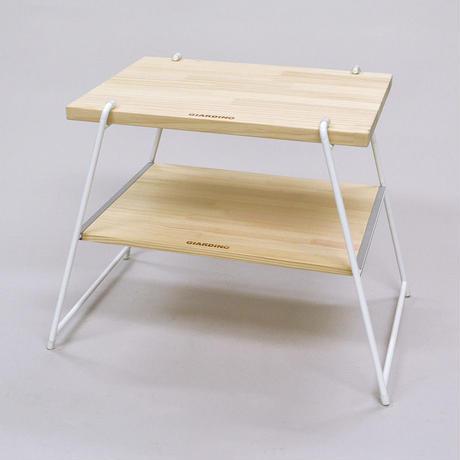 【WEB限定】サイドテーブル&チェアLサイズバッグ付:WH