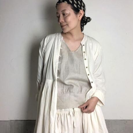 ルクツル のラバリジャケット ーコルカタカディー マシュマロ