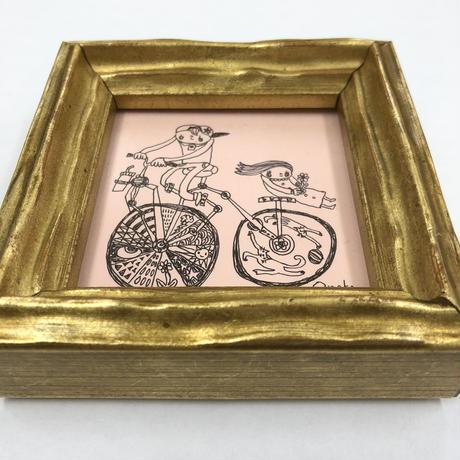 君を自転車の後ろに乗せたいそうです。それだけで幸せだそうです。