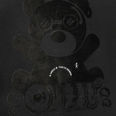 ONECC BLACK FLUFFY BEAR B1 TEE