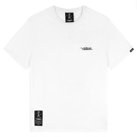 ONECC BACK 3D EMBROIDERY CLASSIC LETTER K01 TEE