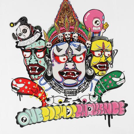 ONECC UNIVERSE THREE-SIDED BUDDHA BU1 TEE