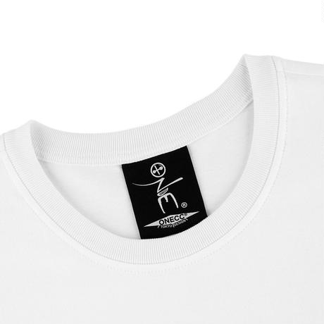 ONECC LOGO CLASSIC REENGRAVING EMBROIDERY OR5 TEE
