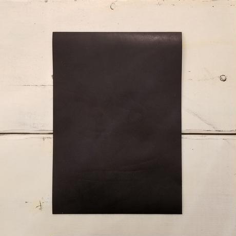 栃木レザー ブラック A4サイズ【漉き加工無料】