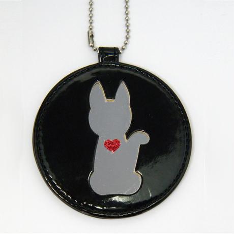 ミラー(猫ブラック)
