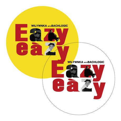 """WILYWNKA """"EAZY EAZY"""" 2 STICKERS SET (YELLOW + CLEAR)"""