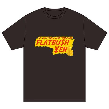 """FLATBU$H ¥EN"" TEE SHIRT (BLACK)"