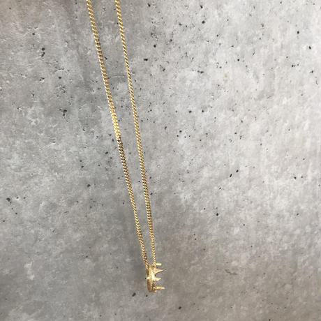 """THE KING"" NECKLACE GOLD (18K)"