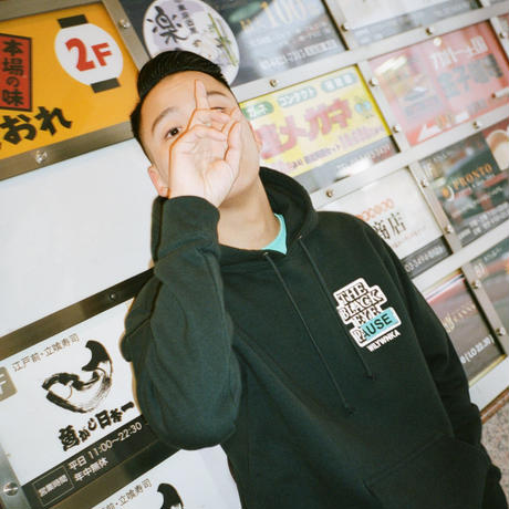 "WILYWNKA x BLACK EYE PATCH ""PAUSE"" Hoodie (ブラック)"
