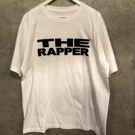 """THE RAPPER"" Tee (White)"