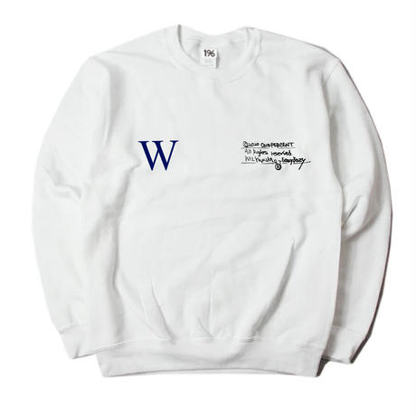 "WILYWNKA ""EAZY EAZY"" SWEATSHIRT (WHITE)"