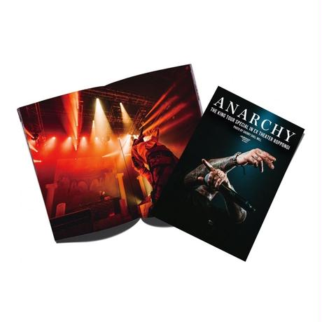 [DVD / 初回生産限定盤 + 1% SHOP 限定 ANARCHY Tシャツ] ANARCHY - THE KING TOUR SPECIAL in EX THEATER ROPPONGI