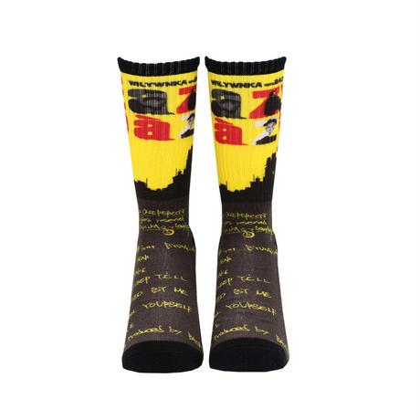 "WILYWNKA ""EAZY EAZY"" SOCKS by Whimsy"