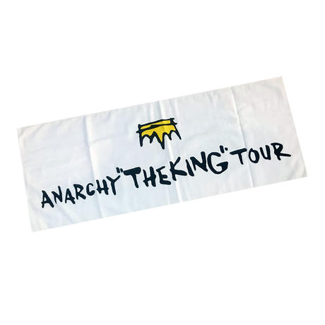 "ANARCHY ""THE KING""  TOUR FACE TOWEL"
