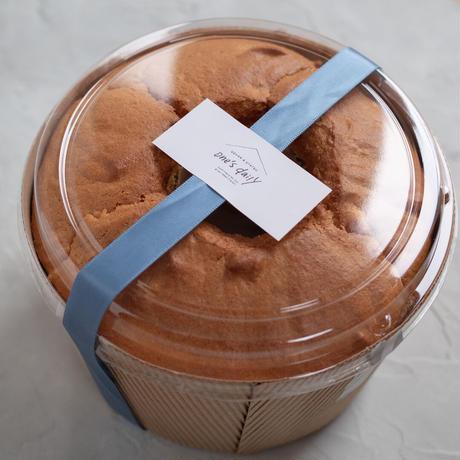 【5月13日発送】米粉のさつまいもシフォンケーキ(直径17cmホール)