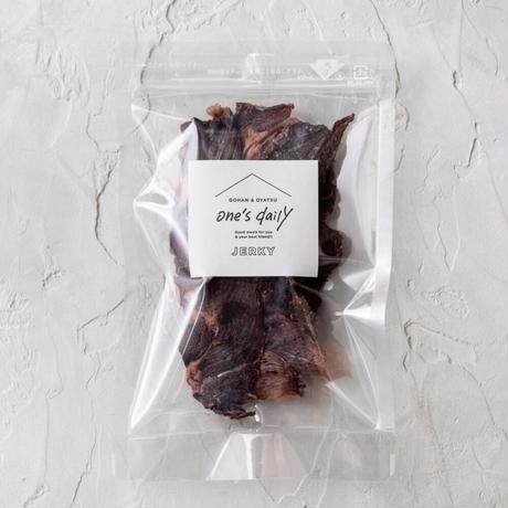 北海道産エゾ鹿の鹿肉ジャーキー(ワンコ専用)