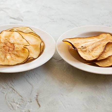 【季節限定】濃厚な甘みの食べ比べ!ドライ洋梨&ドライ和梨《ネコポス利用お得2袋セット》※送料込み商品