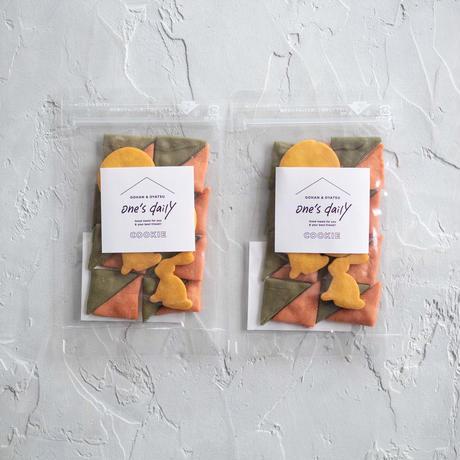 【期間限定】米粉のお月見クッキー2袋《ネコポス利用お得2袋セット》※送料込み商品