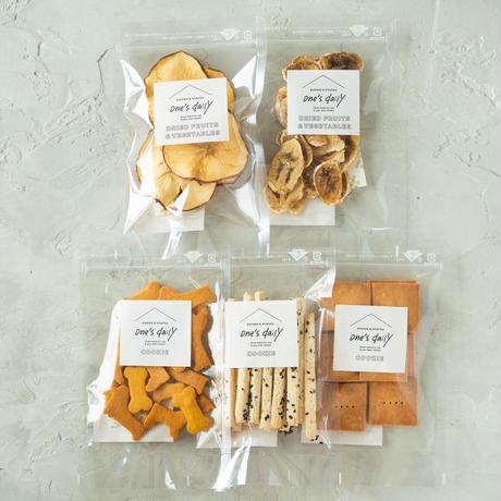 人気商品詰め合わせギフトセット(クッキー&フルーツ5袋)