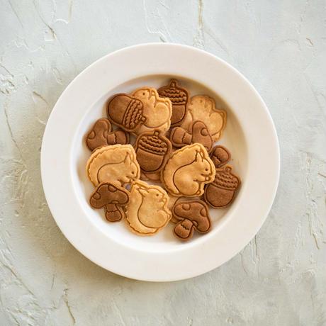 【期間限定】米粉のリスとどんぐりクッキー