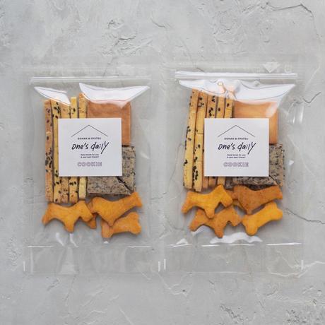 米粉のクッキーアソート2袋《ネコポス利用お得2袋セット》