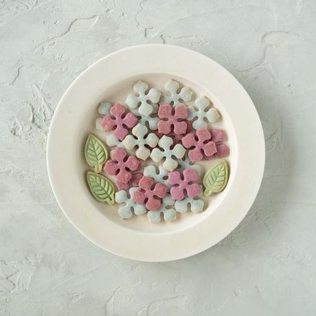 【期間限定】米粉の紫陽花クッキー4袋《ネコポス利用お得4袋セット》※送料込み商品