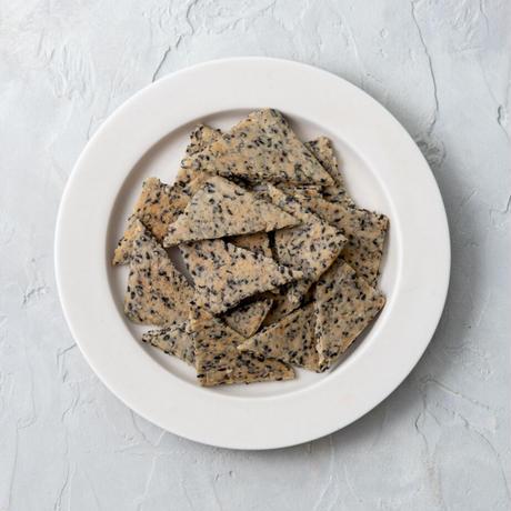米粉の黒ごまクッキー