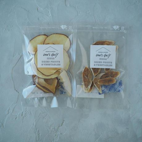 【アップル&バナナ 】ドライフルーツ2袋セット