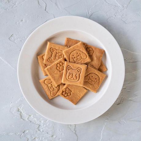 ワンコ顔の刻印!米粉のおからクッキー